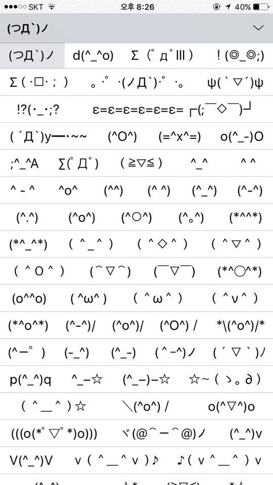 MARCELLA: Cute text faces