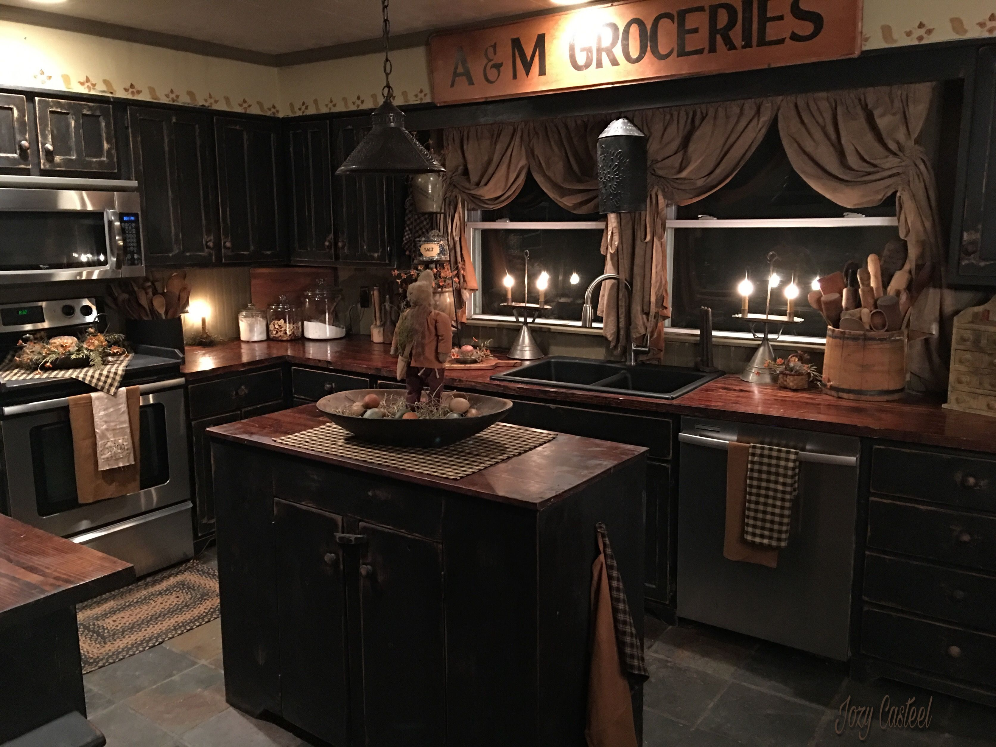 rustic country kitchen decor extractor hood krista shilling pinterest primitive