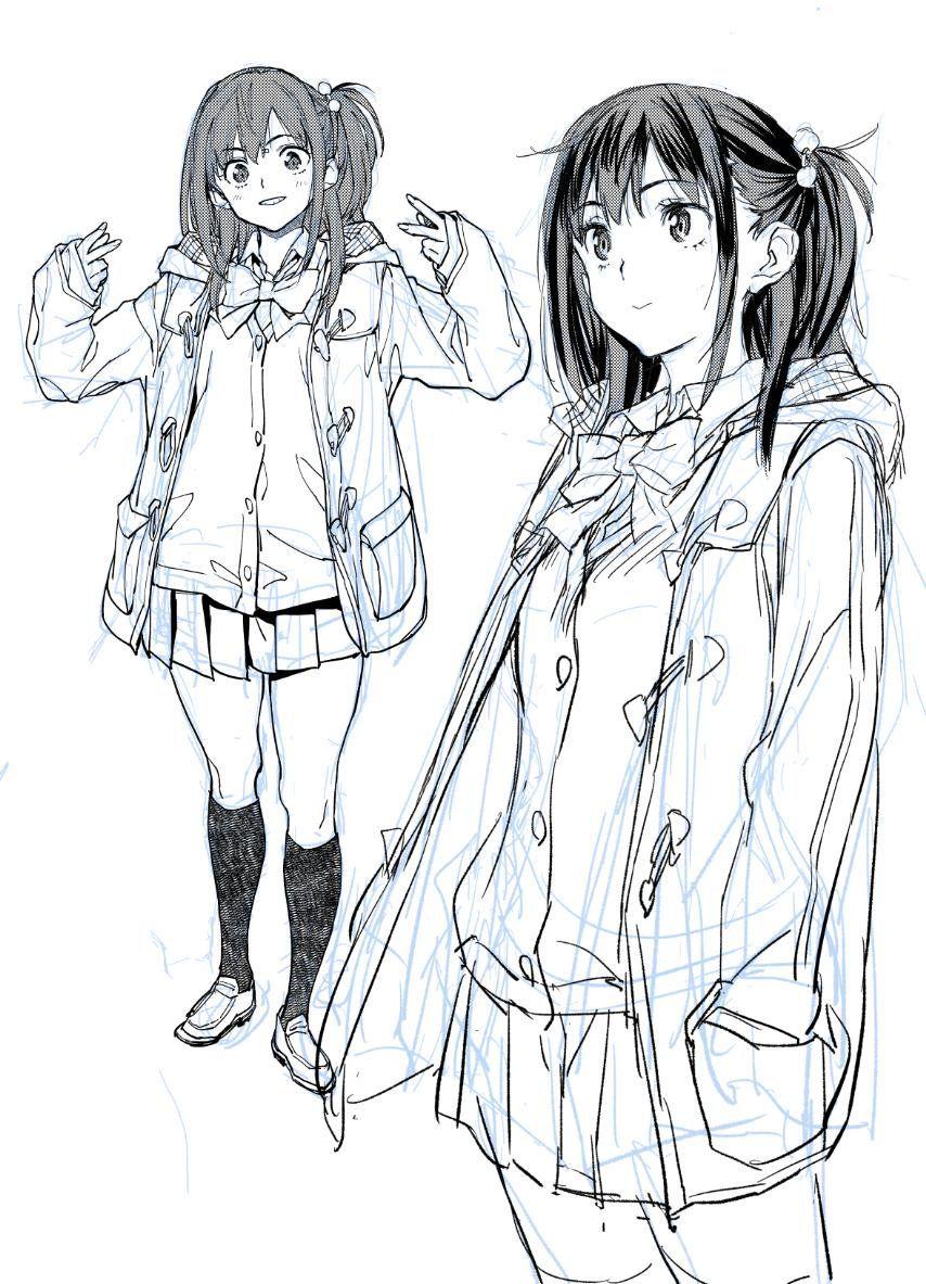 さめだ小判 on twitter anime drawings pics