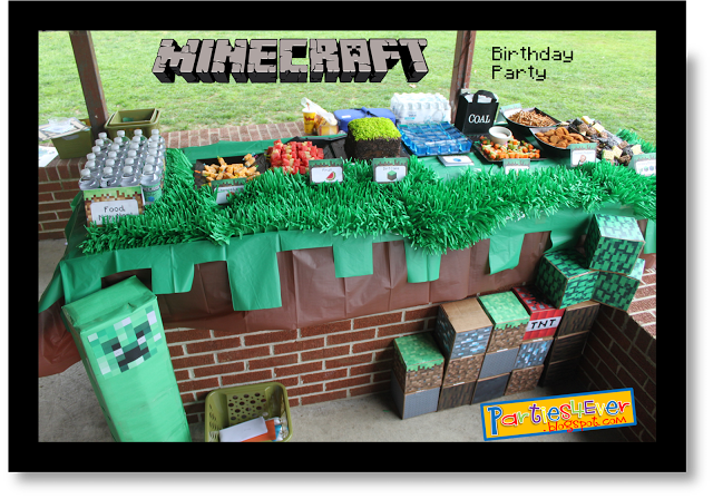 Parties4ever Minecraft Party Ideas For Treats Games And