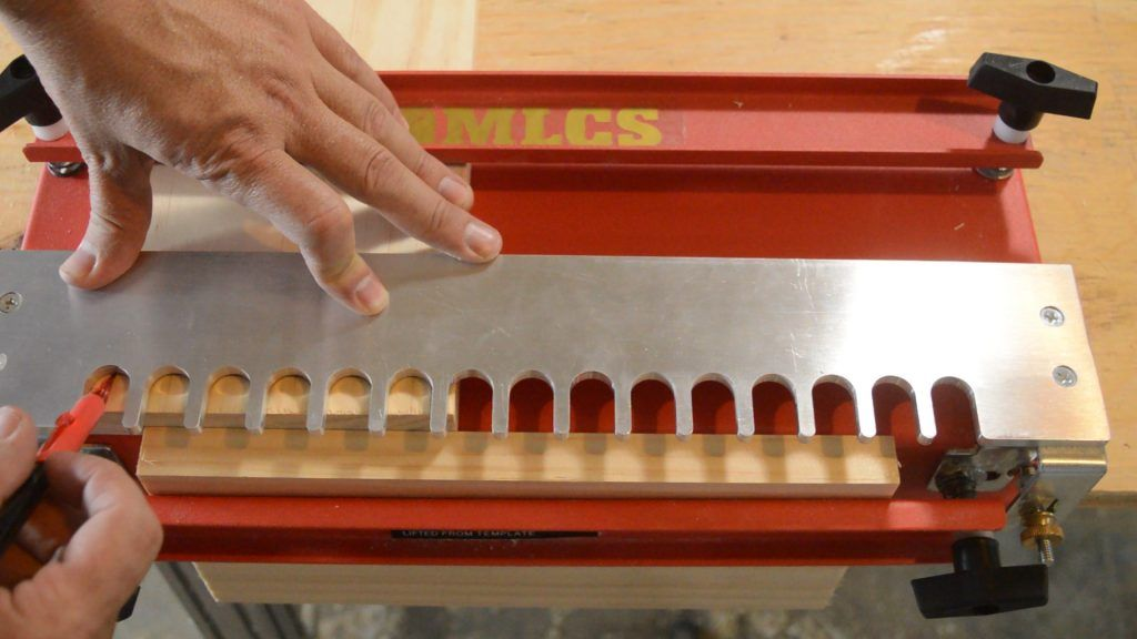 The Mlcs Dovetail Jig How To Use It Dovetail Jig Jig Woodworking Jigs