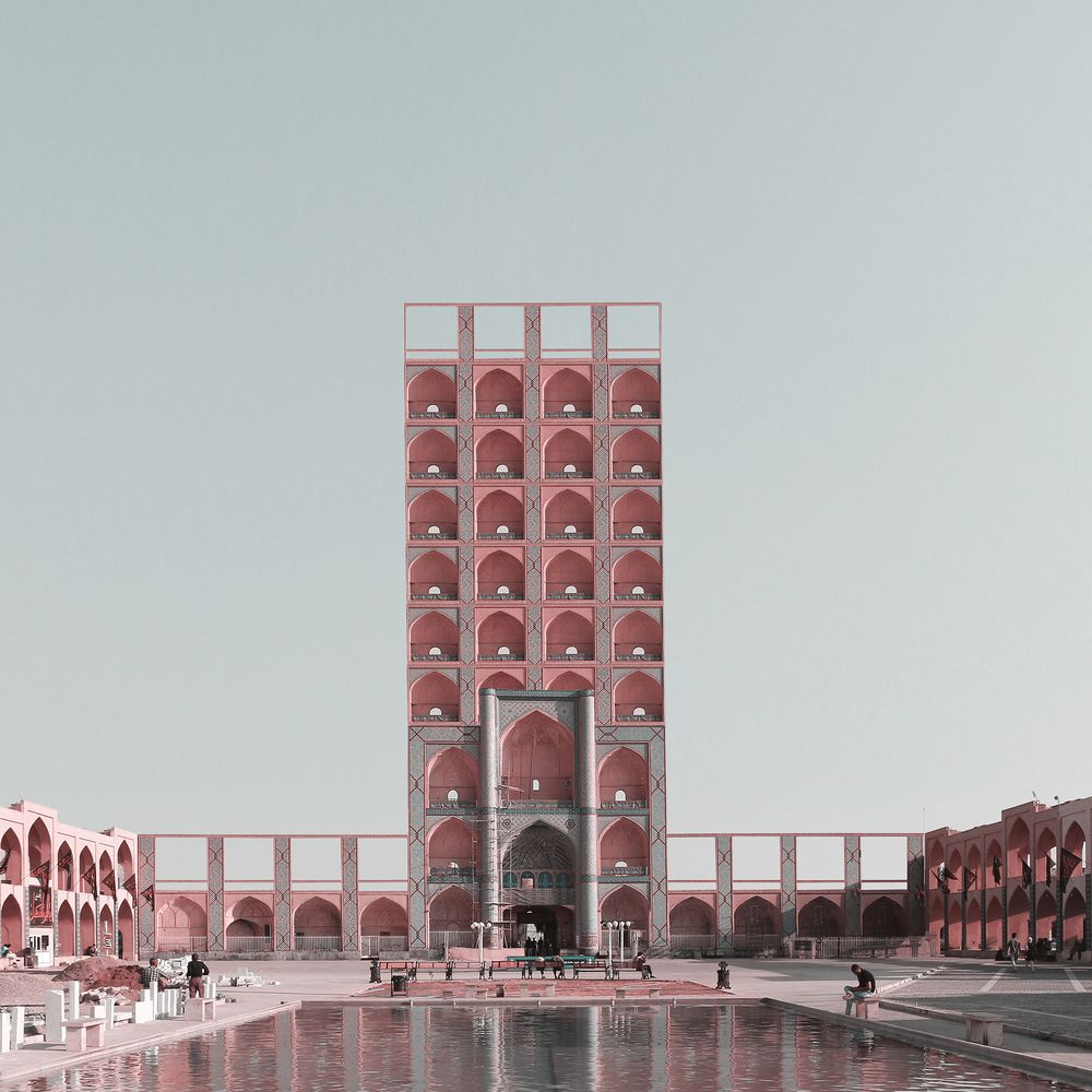 Gallery of Traditional Iranian Monuments Reimagined as High-Rise Buildings  - 4