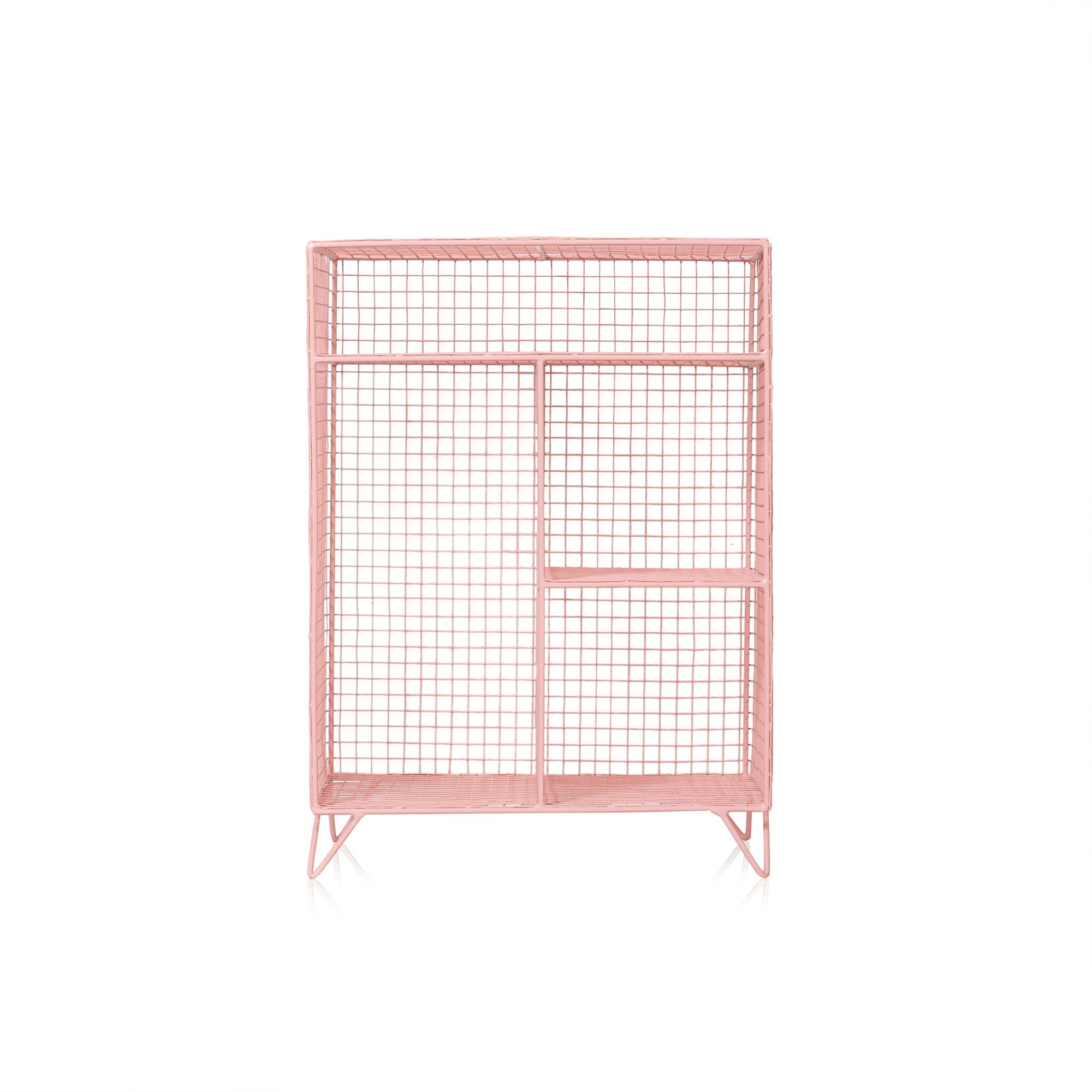 Pink Grid Four Shelf Mix Match Storage Unit at Oliver Bonas  sc 1 st  Pinterest & Pink Grid Four Shelf Mix Match Storage Unit at Oliver Bonas | For ...