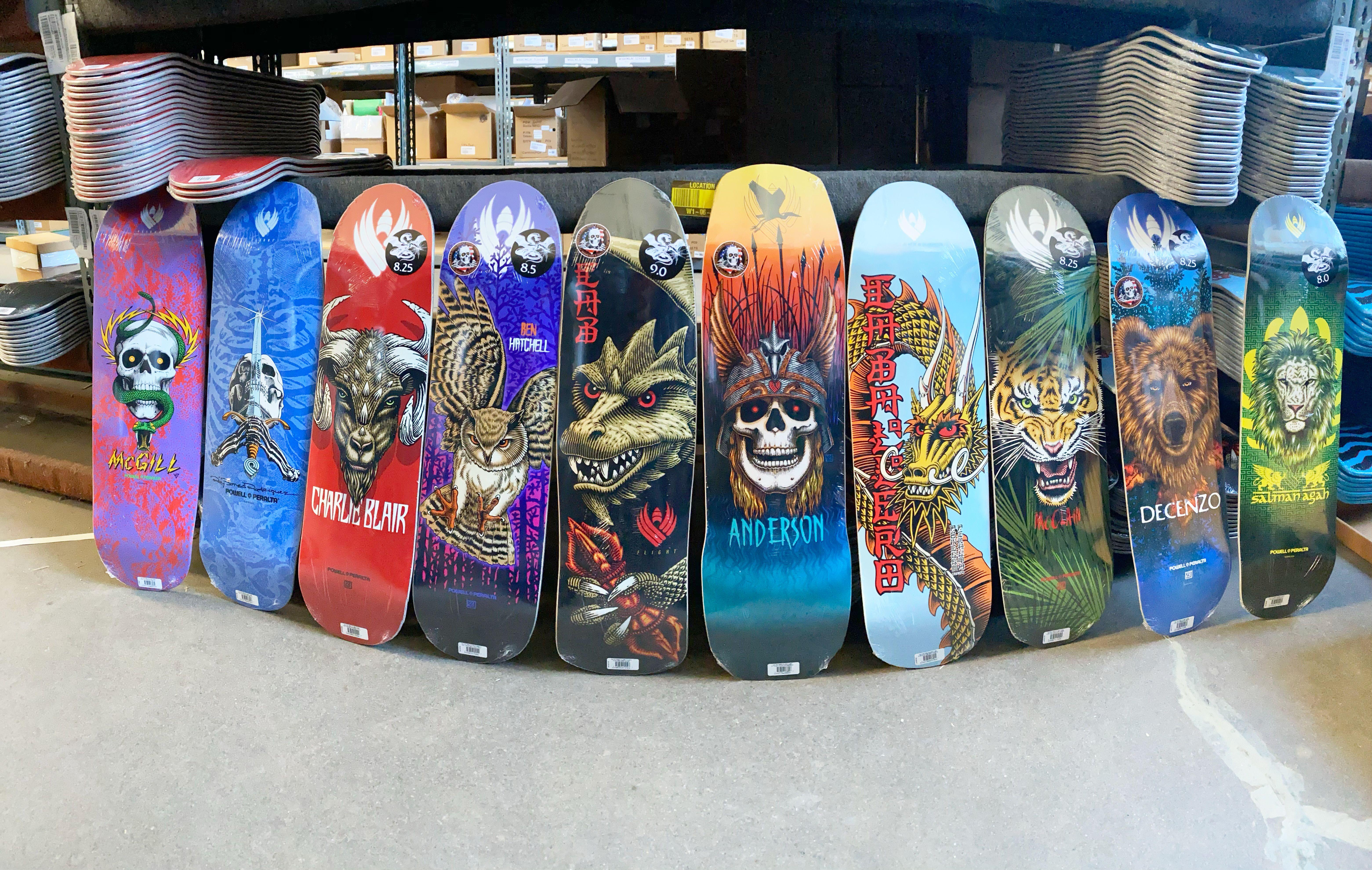 Powell Peralta Flight Deck Skateboards In 2020 Powell Peralta Flight Deck Skateboard Decks