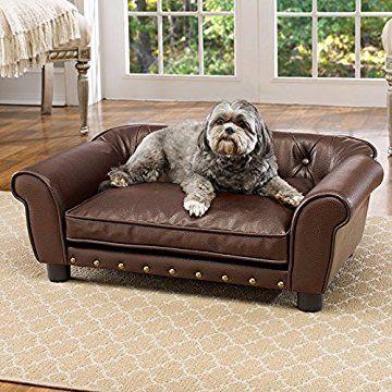 Enchanted Home Pet Brisbane Tufted Pet Bed Dog Sofa Bed Dog Bed Pet Beds