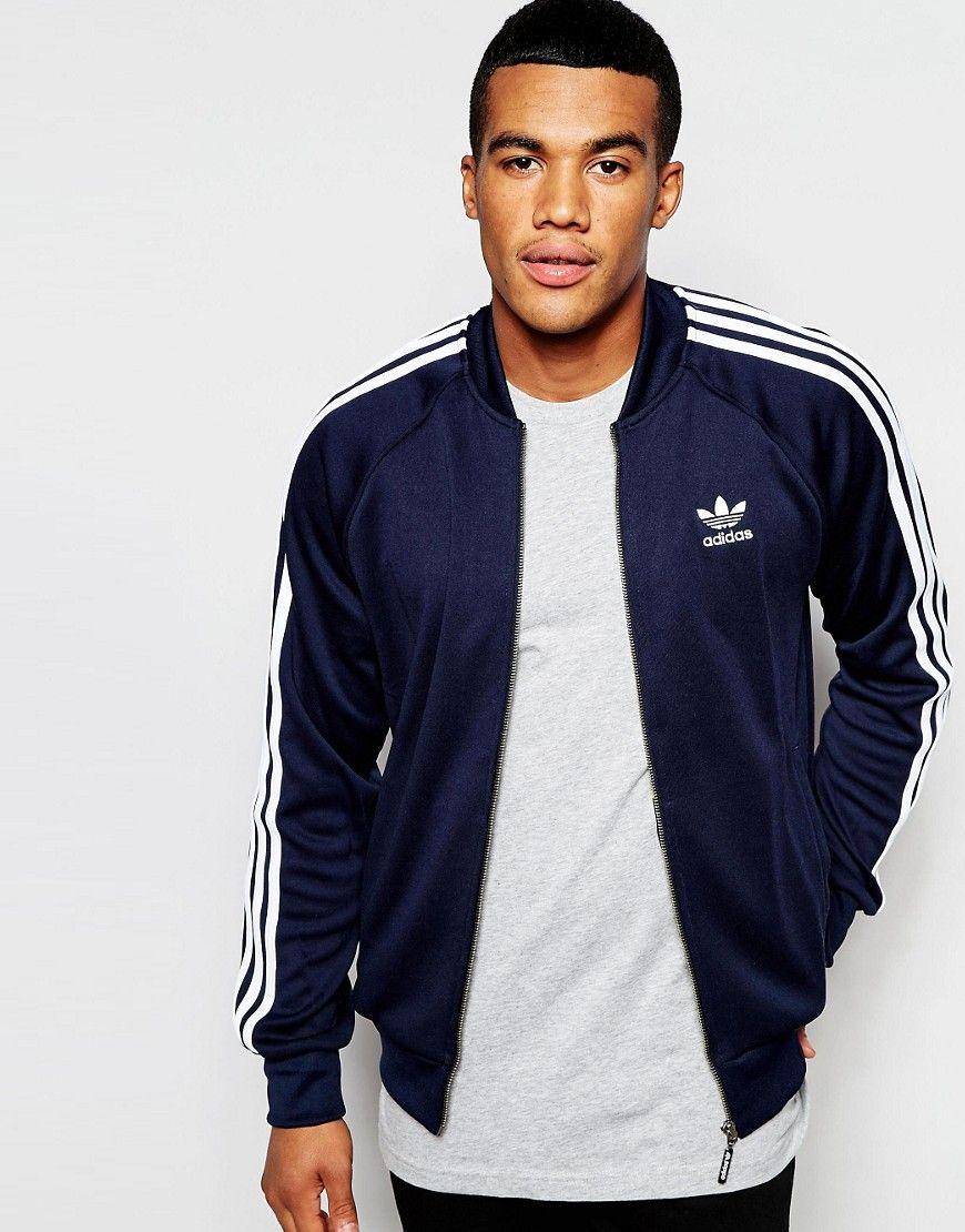 Image 1 of adidas Originals Superstar Track Jacket AJ7003