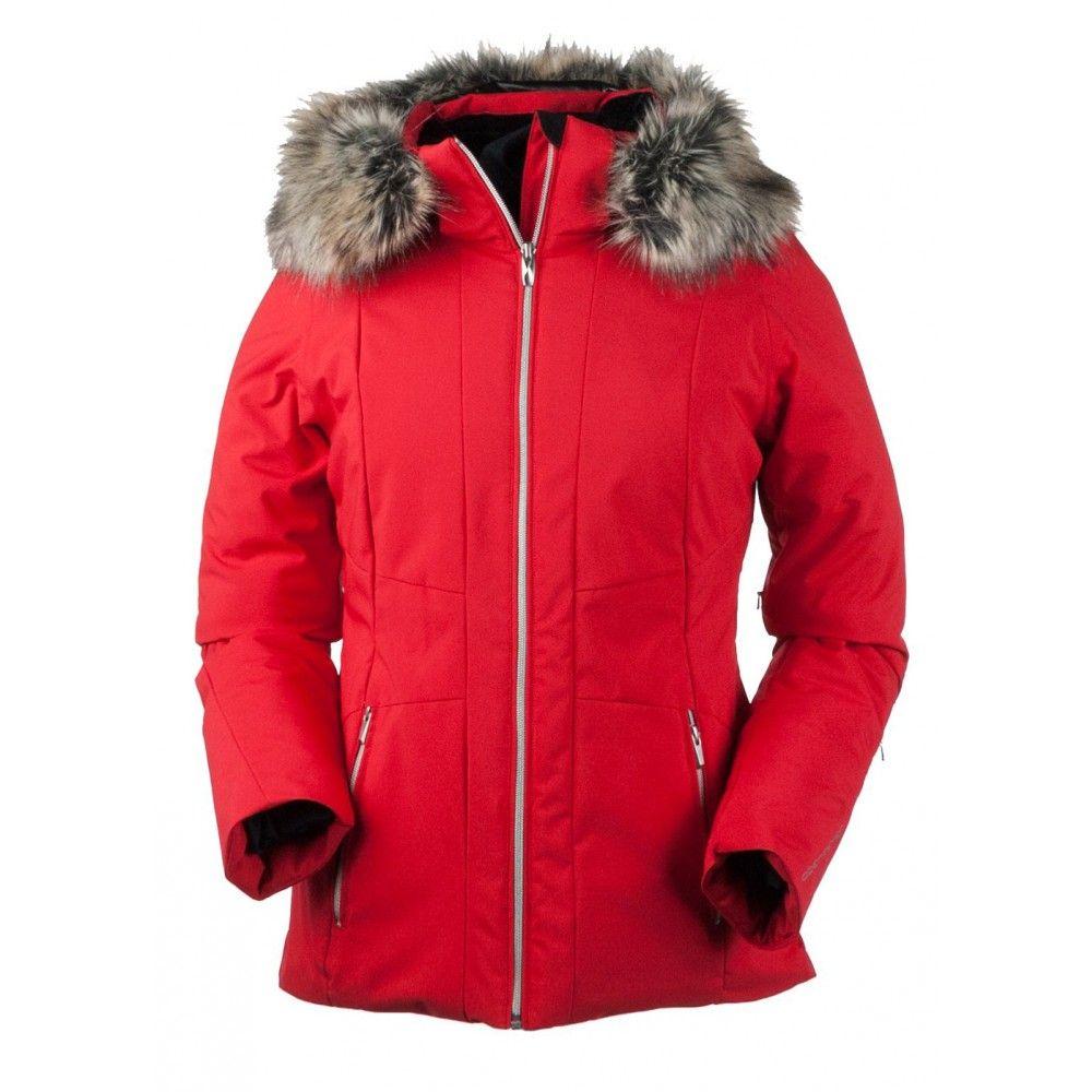 Obermeyer Women S Siren Jacket W Faux Fur Jackets Cold Weather Jackets Obermeyer [ 1000 x 1000 Pixel ]