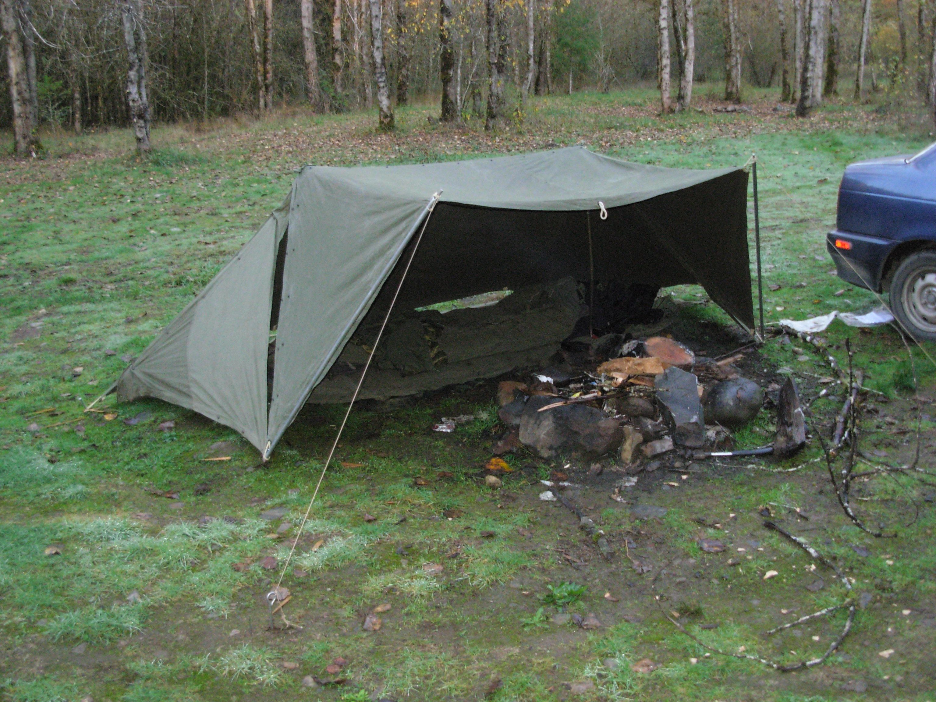 army pup tent | sbtactical | camping | Motorcycle camping