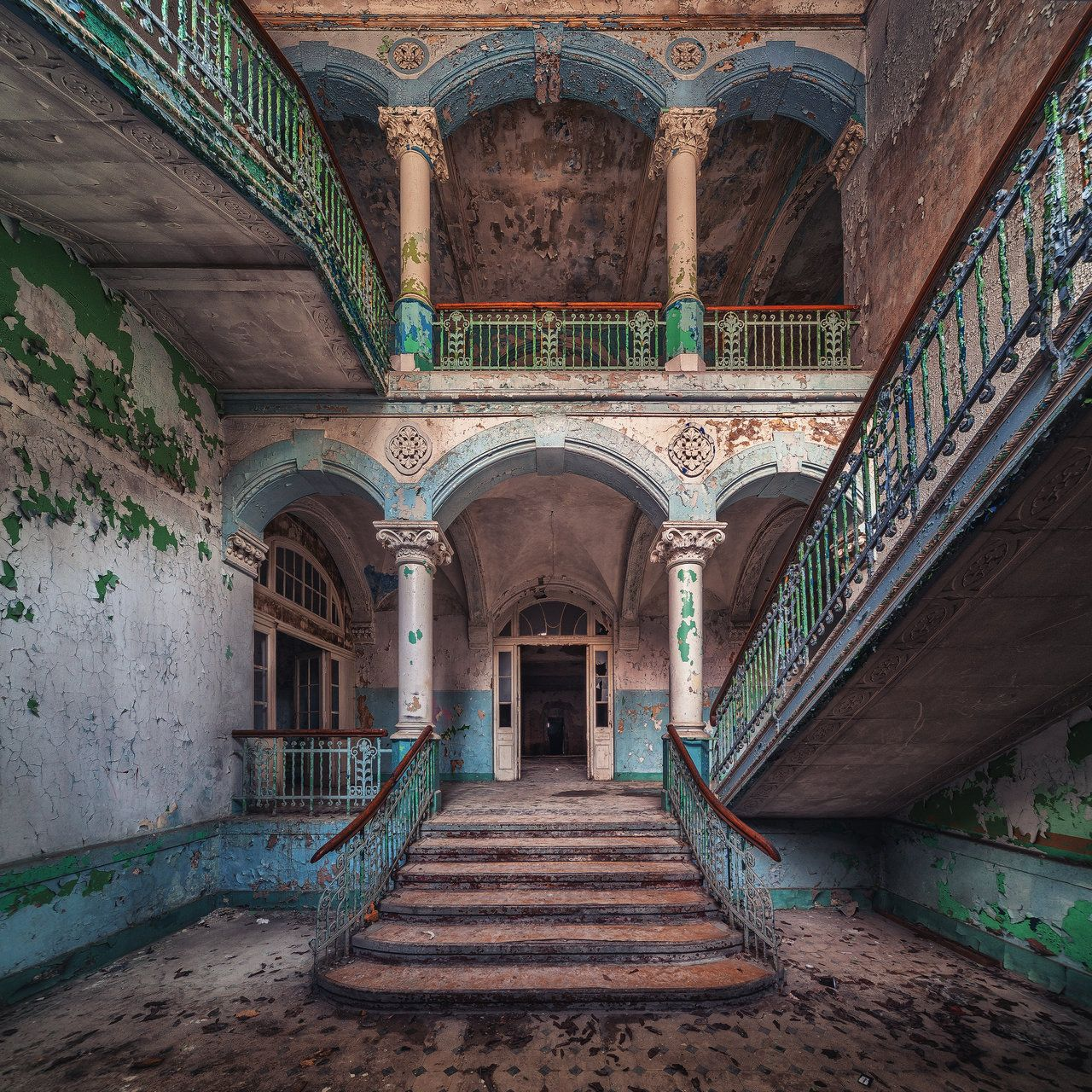 Abandoned Hospital Somewhere In Europe ©Matthias Haker