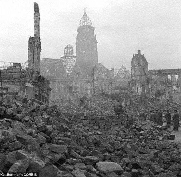 I Would Have Destroyed Dresden Again Bomber Harris Was Unrepentant Over German City Raids 30 Years After The End Of World War Two Dresden Bombing World War Two Wwii History