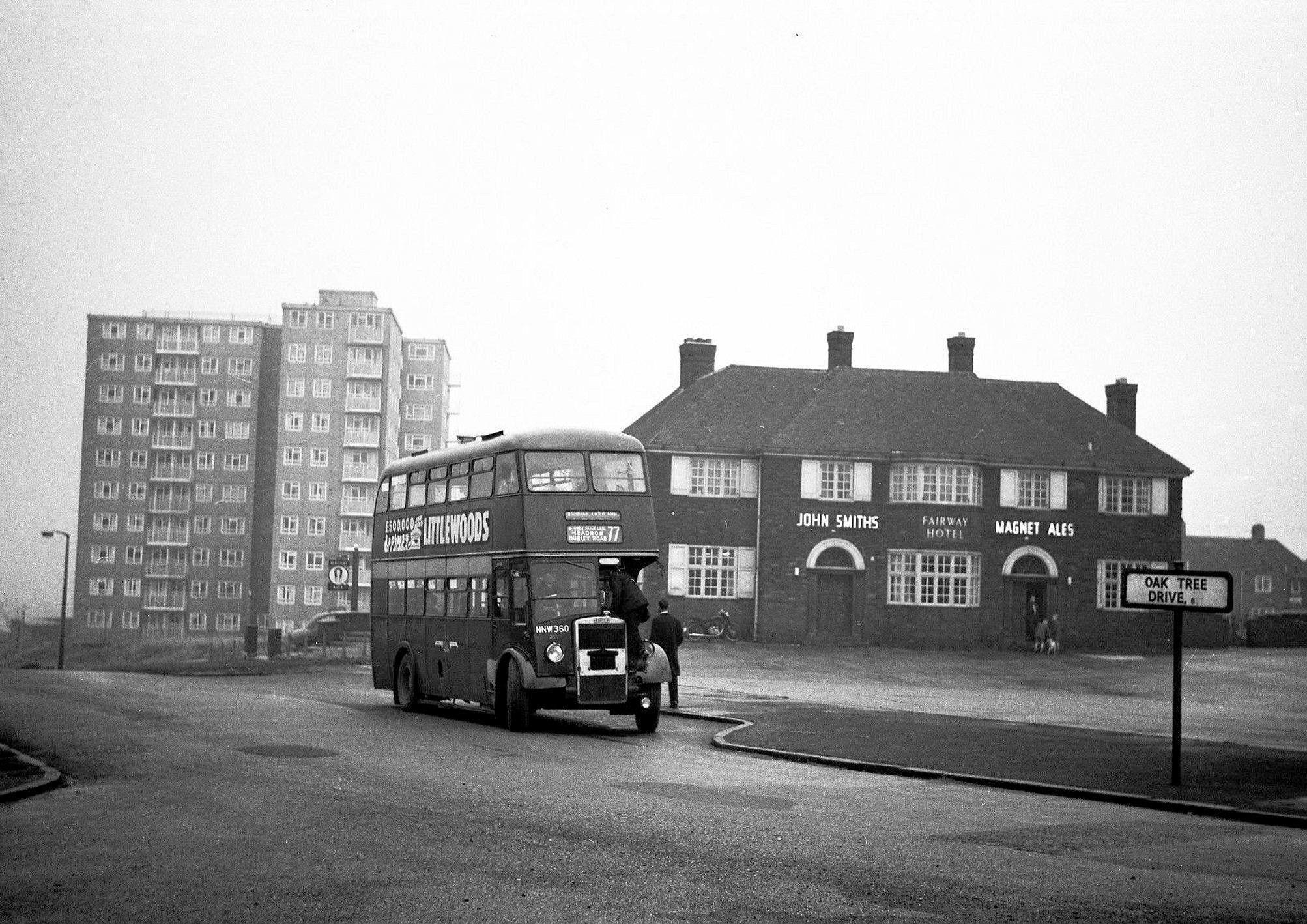 Fairway Hotel Leeds Pubs Leeds City Old Photos