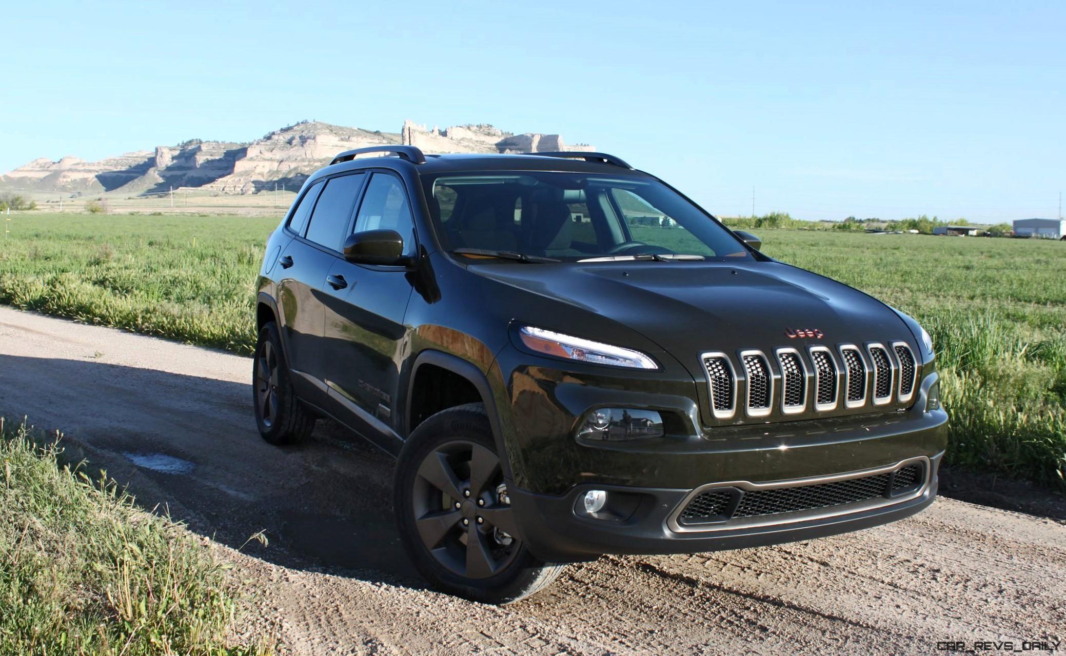 2016 Jeep Cherokee Latitude 75th Anniversary Edition Review By Tim Esterdahl Customs Car Revs Daily Com Jeep Cherokee Chevrolet Volt Jeep