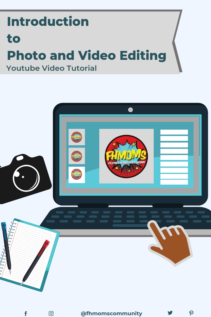 Youtube Video Tutorial For Photo And Video Editing Videos Tutorial Work From Home Moms Tutorial