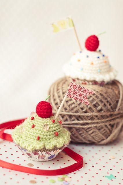 Free Patterns: ¡Feliz Cupcake! | Gallimelmas e Imaginancias