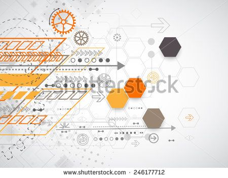 Concept Of Business Communication In A Computer Network Stock Photos, Images, & Pictures | Shutterstock