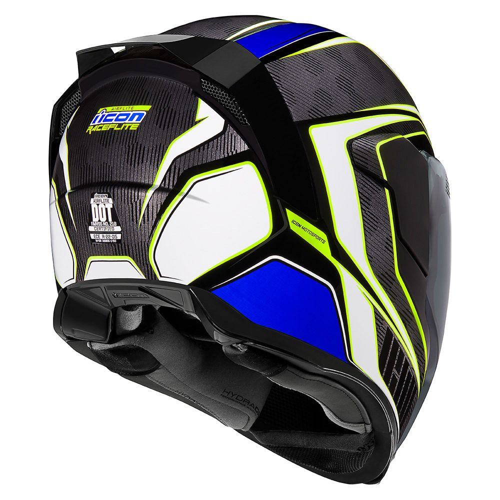 Raceflite Blue Helmets Icon Motosports Ride Among