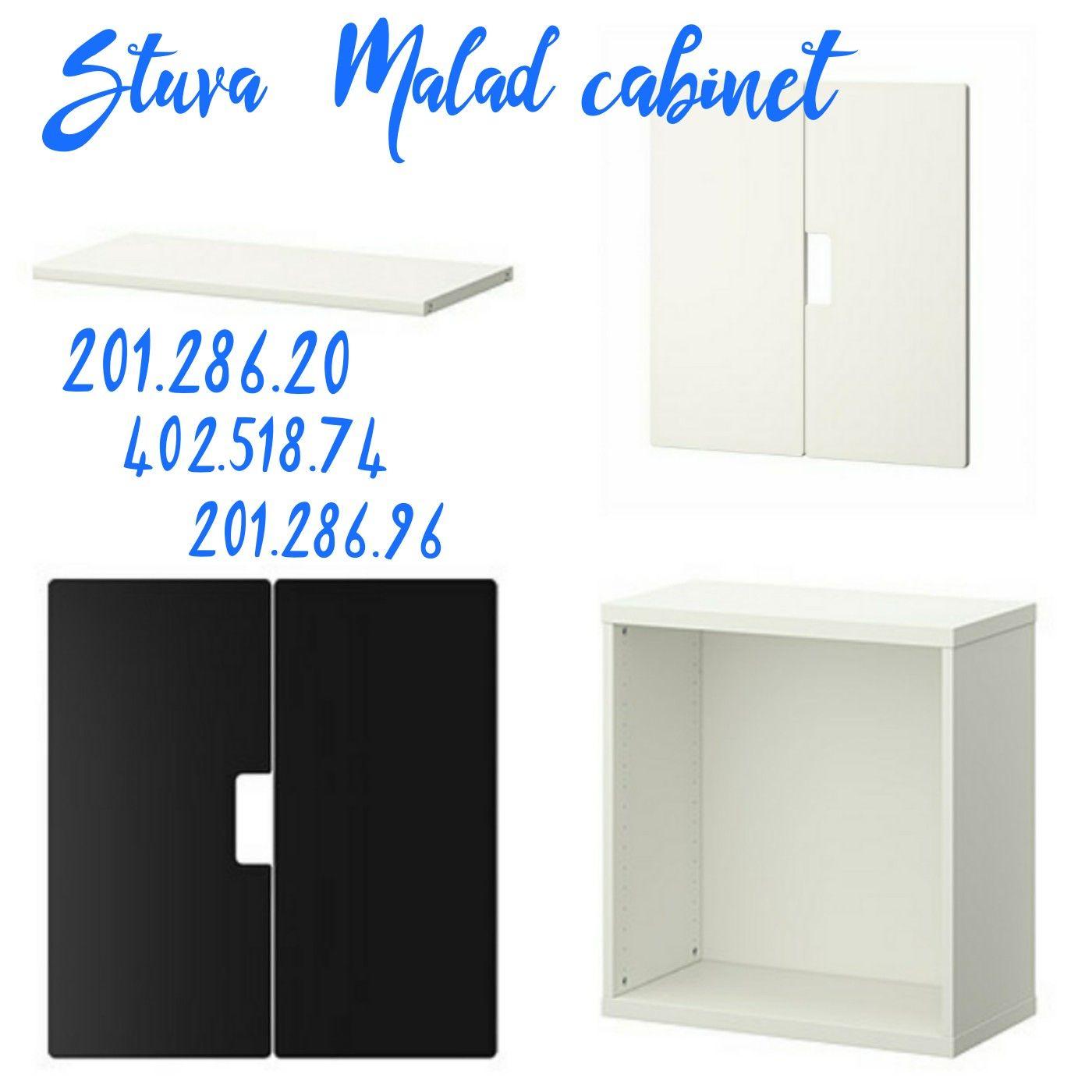 Ikea - Stuva Malad - Order 4 Shelves, Two Door