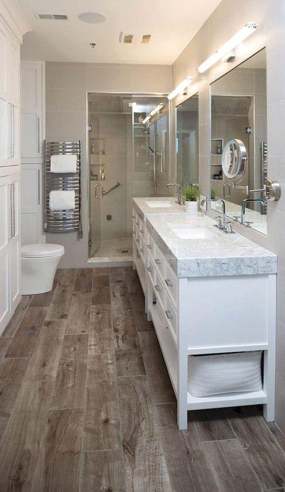 Small master bathroom ideas (22) | Modern master bathroom ...