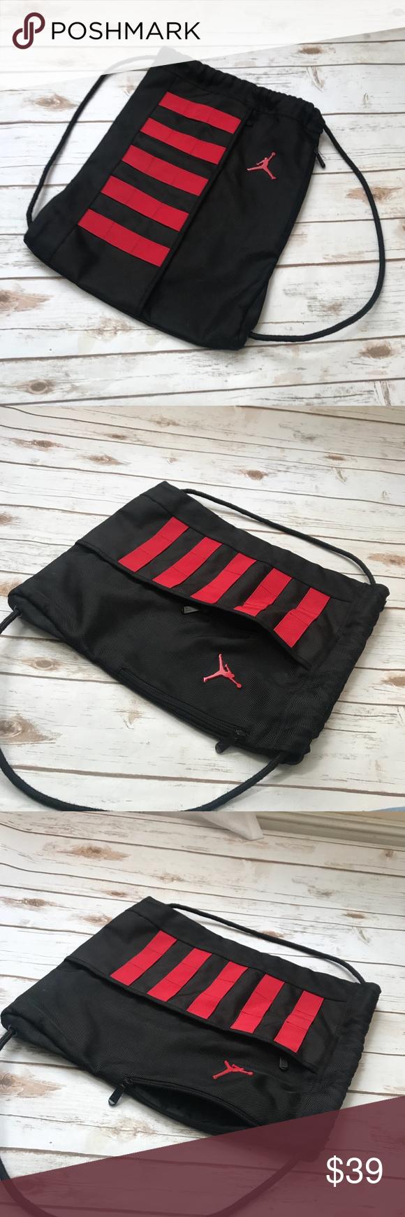 179b9c3c5b47 Nike Jordan String Gym Bag Nike Jordan String Gym Bag