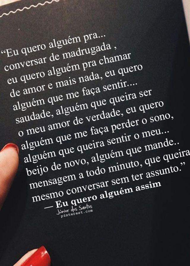 Pin De Jr Dos Santos Em Amor Infinito Frases Quotes E Love