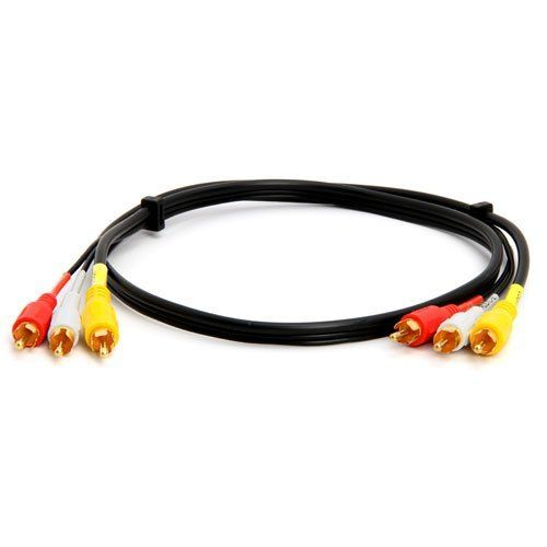 Recoton Tsvg311 Stereo Audio  Video Rca Cable  3 Feet  By