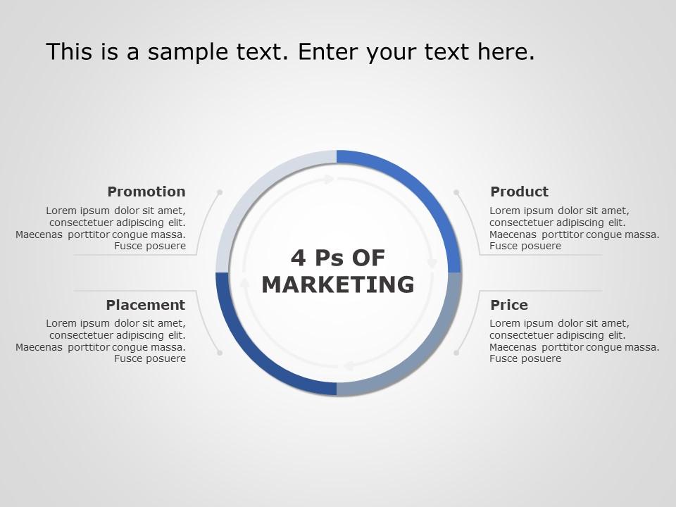 Marketing Mix Powerpoint Template Marketing Strategy Template Powerpoint Templates Brand Strategy Template