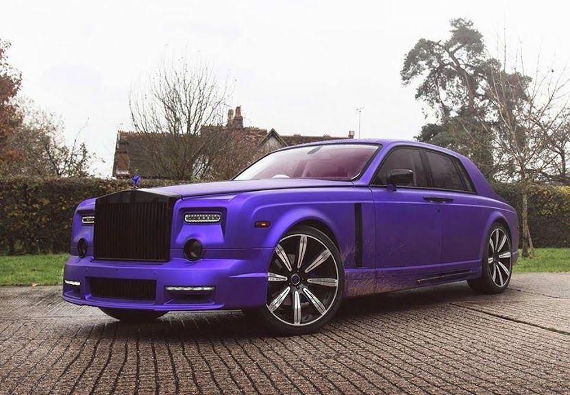 Purple Rollsroyce Phantom By Mansory Cars Luxury Rolls Royce Phantom Rolls Royce Luxury Cars