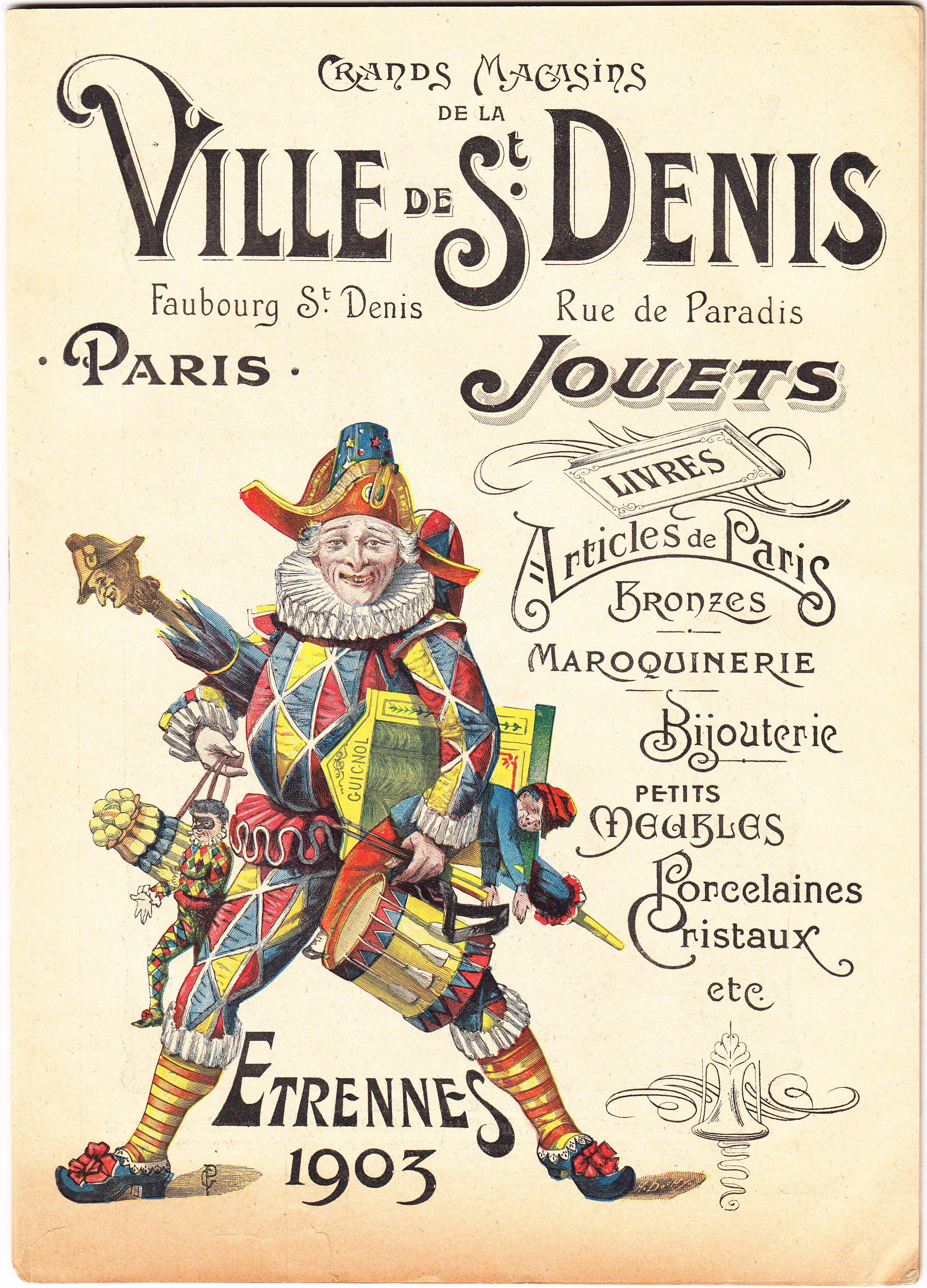 St Denis 1903 Affiches R Tro France Pinterest Pub Pub