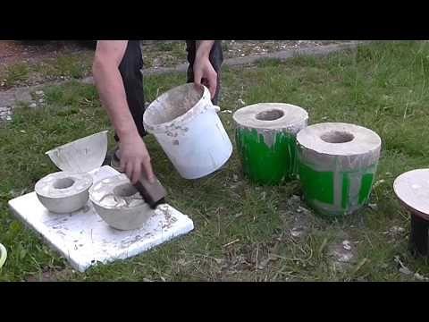 Feuerschalen selbstgemacht - YouTube Beton Pinterest Grill
