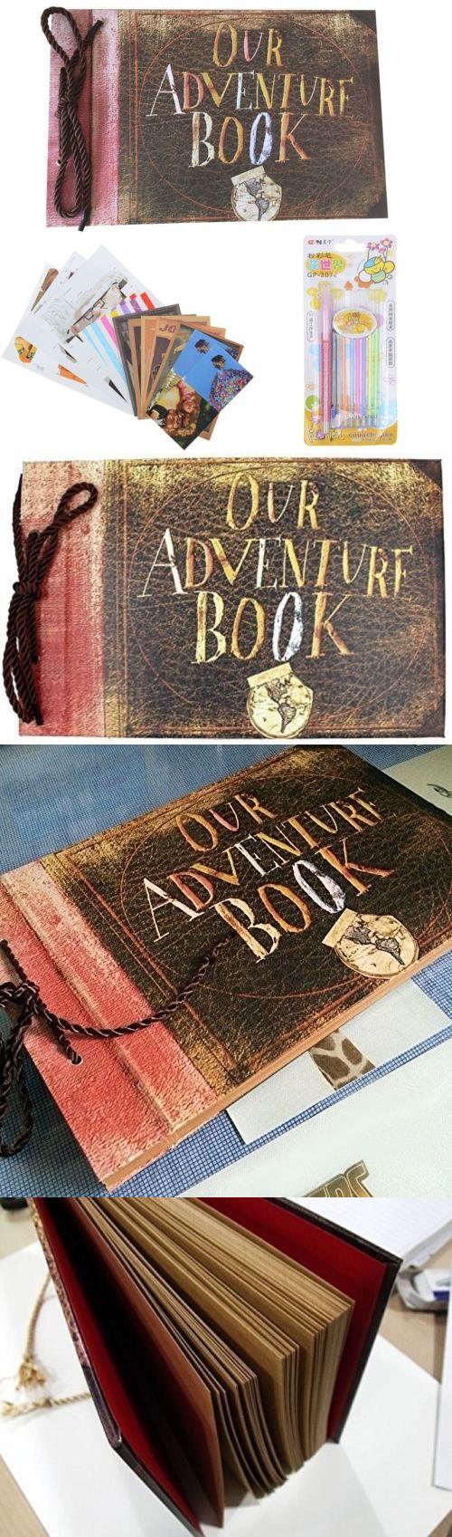 Photo albums our adventure book photo album diy scrapbook