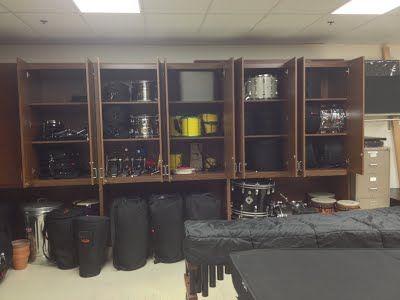 Main Percussion Storage Room 2