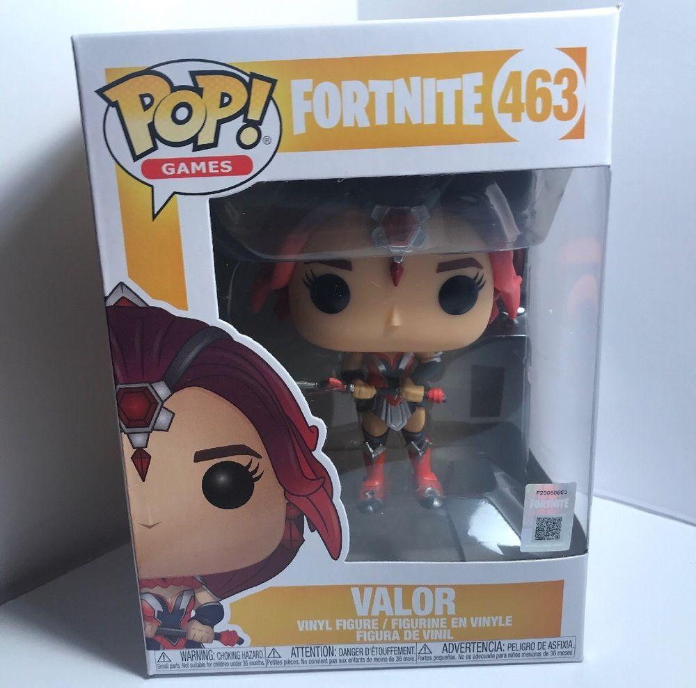61d65e4509d FUNKO POP! GAMES FORTNITE VALOR  463 VINYL FIGURE  fortnite   fortnitebattleroyale  live