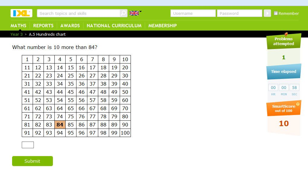 From uk.ixl.com Fun maths practice! Improve your skills with free ...