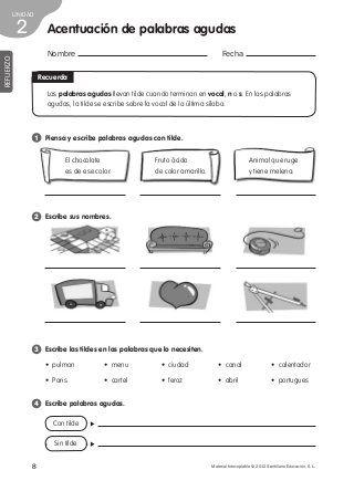 Refuerzo lengua 4º de primaria | cuarto grado | Pinterest | Spanish ...
