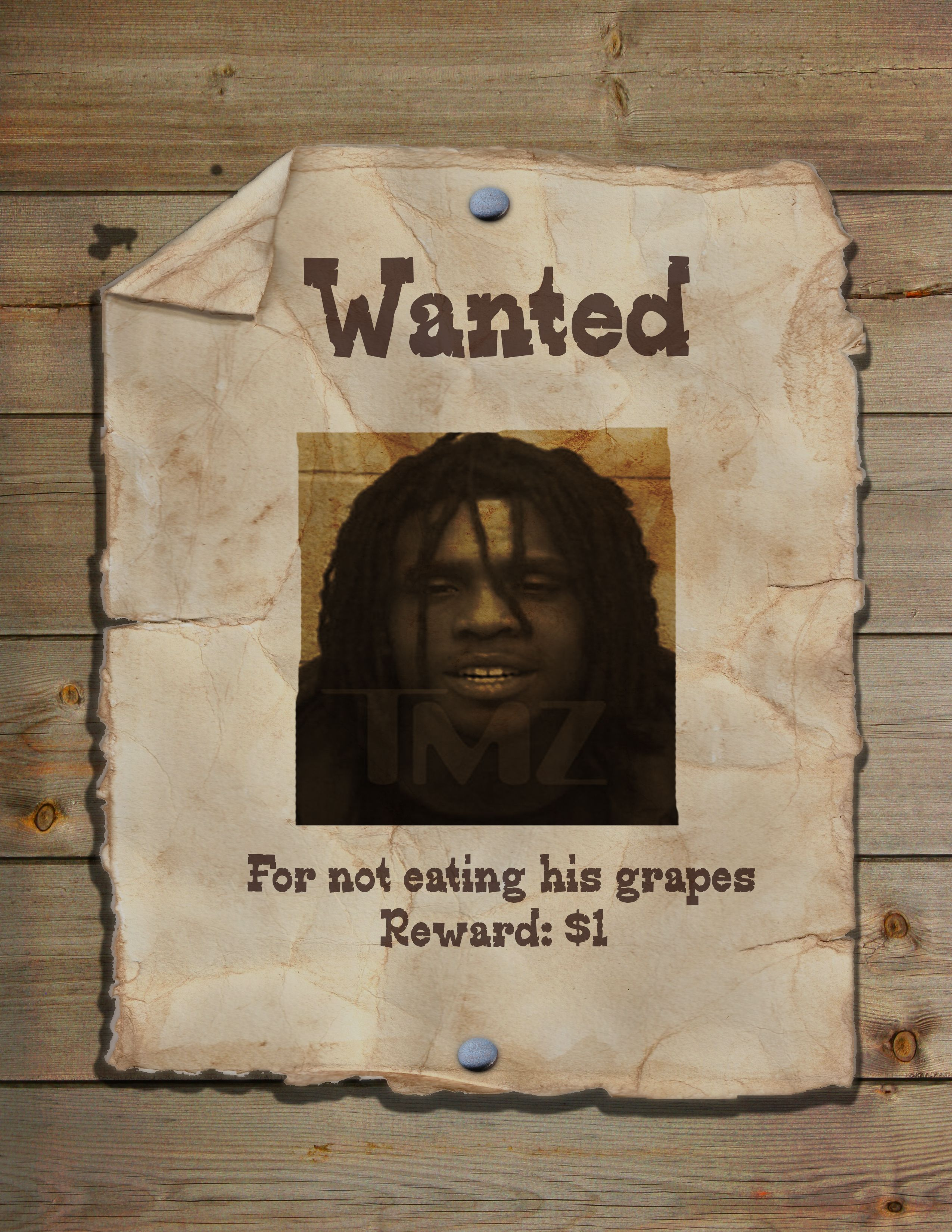Wanted Poster Photoshop Template Psd