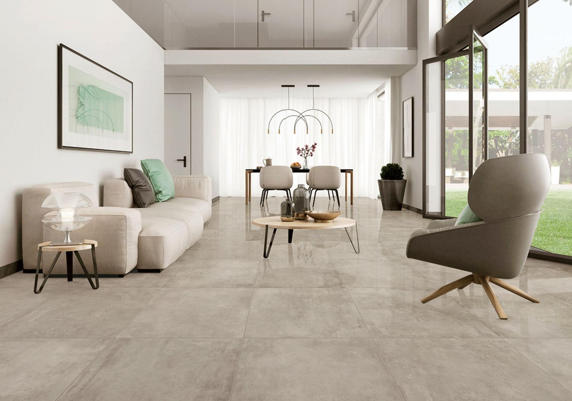 polished cement polished porcelain tile