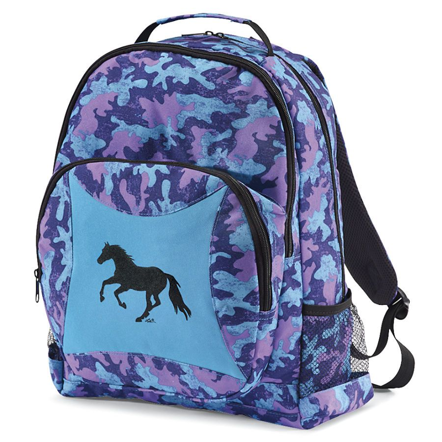 Horsey Camo Backpack - Western Wear, Equestrian Inspired Clothing, Jewelry, Home Décor, Gifts