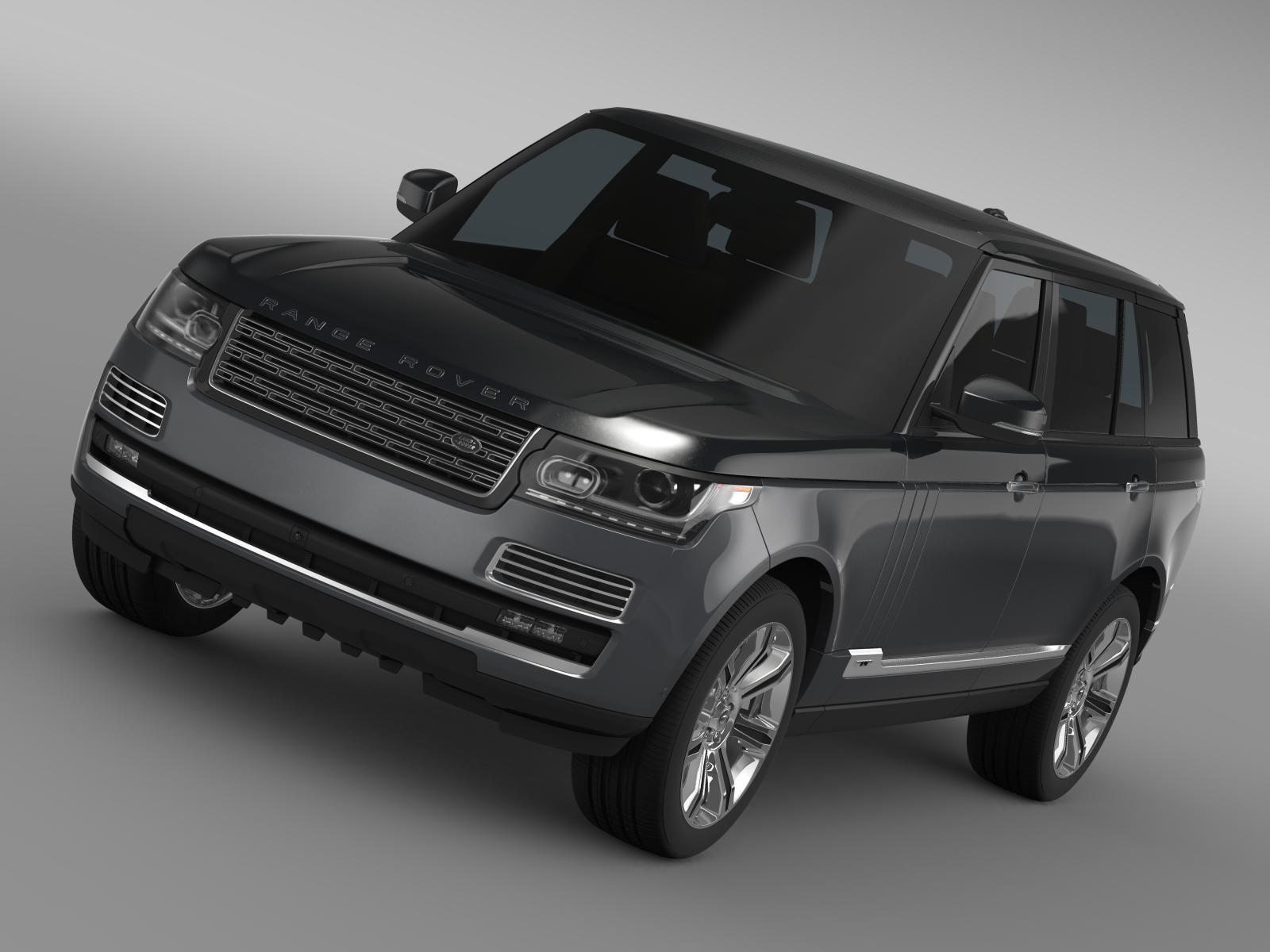 Range Rover SVAutobiography L405 2016 3D Model Let me