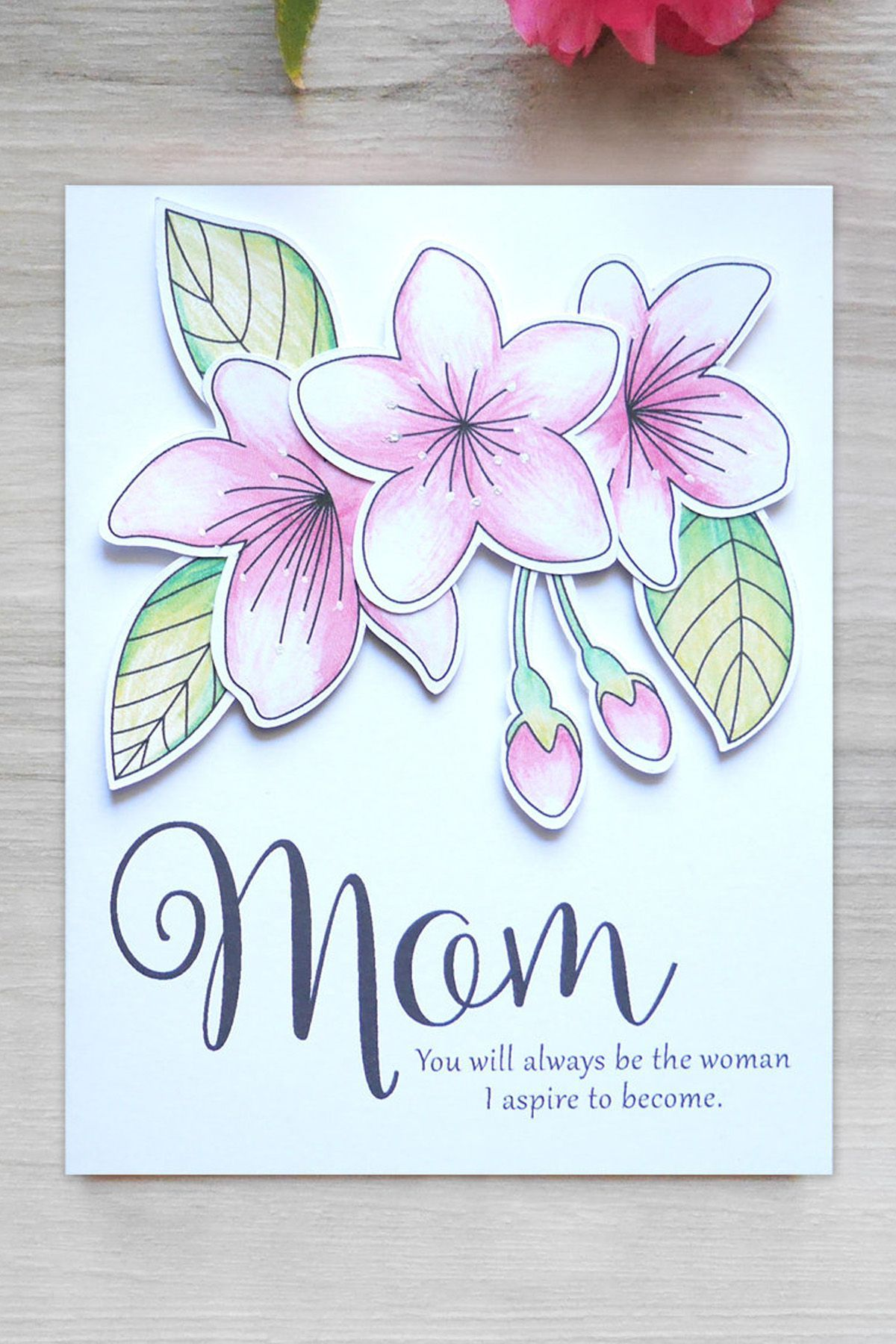 birthday card for mother ideas