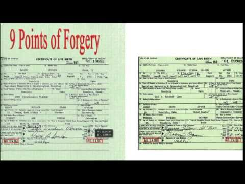 Analysis of Obamau0027s Birth Certificate Interesting Pinterest - best of birth certificate pic