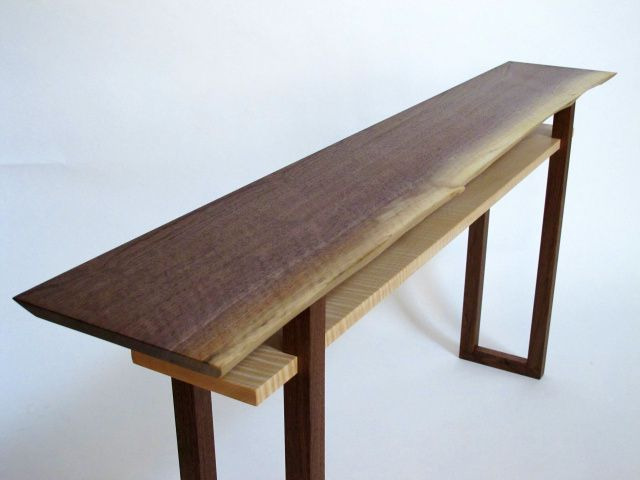 Charmant Image Result For Console Table Wood Slab
