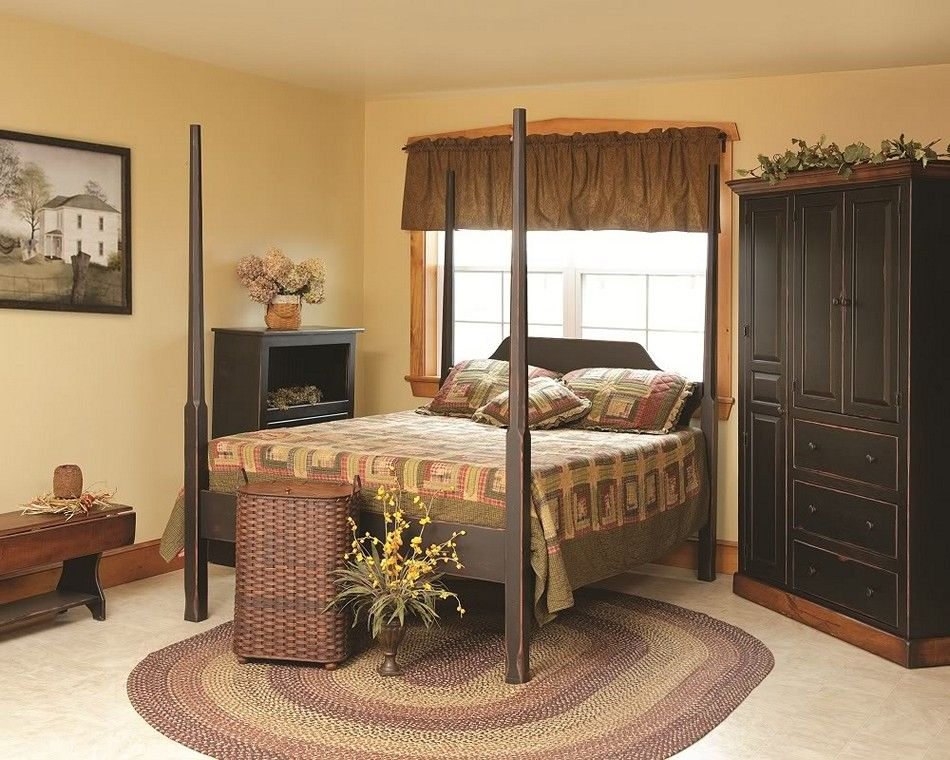 Best Primitive Bedroom Decorating Ideas Jpg 950 760 With Images