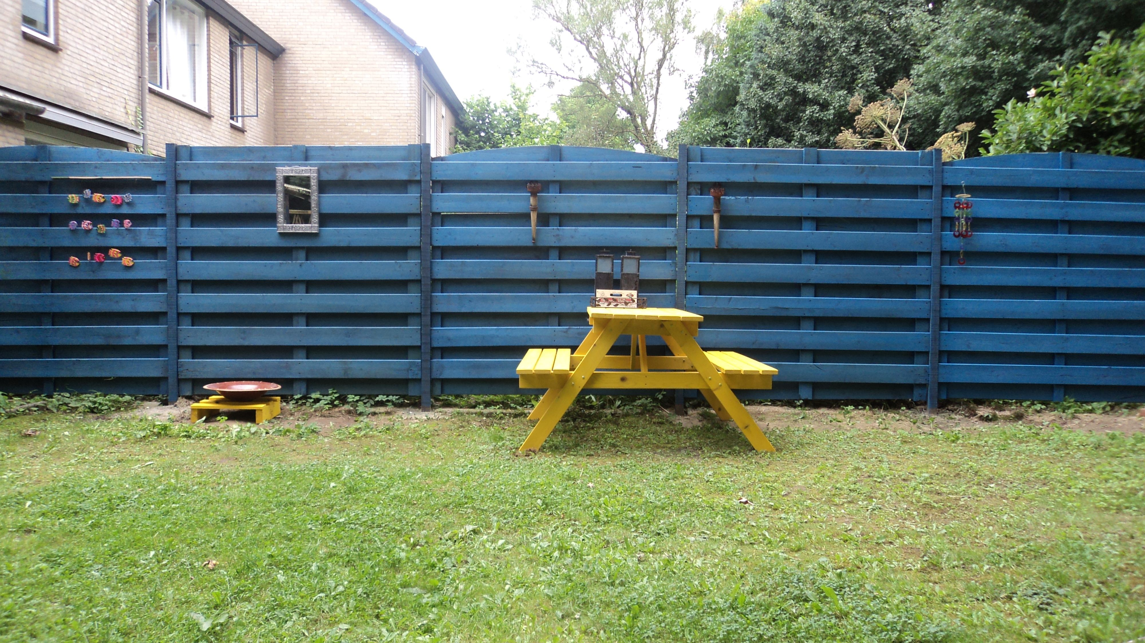 1000  images about verf je schutting / paint your fence on ...