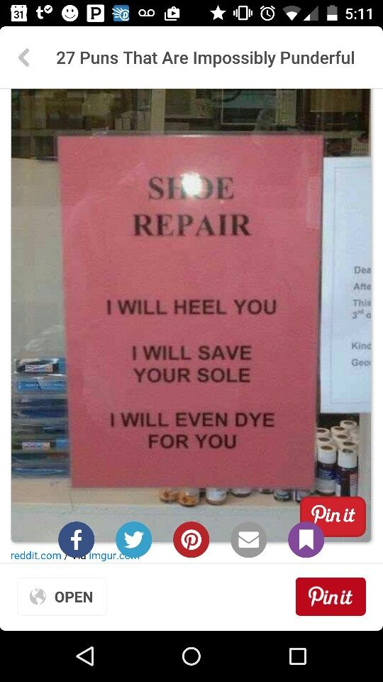 Shoe Pun Puns Pinterest Shoe Puns