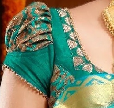 30 Latest Banarasi Blouse Designs For Sarees