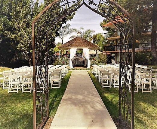 Palm Garden Hotel Newbury Park Weddings Ventura Wedding ...