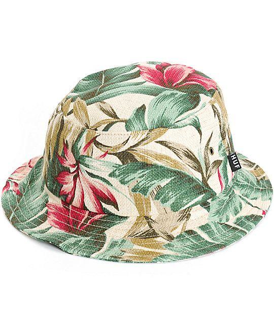 fb0dc015534 Empyre Elysian Hawaiian Floral Bucket Hat