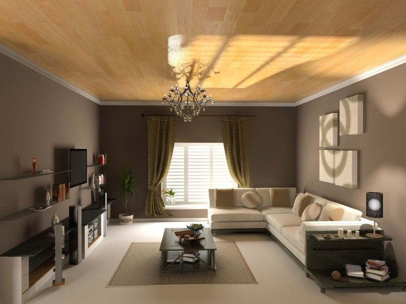Modern living room interior design decorating ideas cream carpet lounge suites and honey colour - Living room with cream walls ...