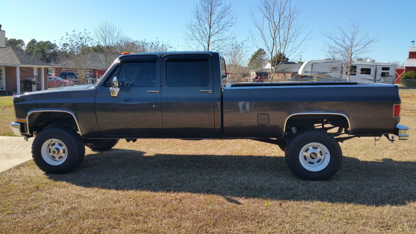 All Chevy 1987 chevy crew cab 4×4 : Pin by james fernandez on crew-cab s & extended cab long-bed 4x4 ...