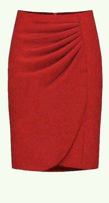 Falda roja  82bf658370b5